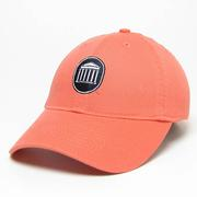 CORAL RELAXED TWILL LYCEUM CAP CORAL