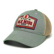 REBELS OM OLD FAV TRUCKER CAP FLTBL