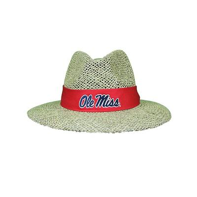Ole Miss Straw Hat