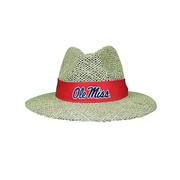 OLE MISS STRAW HAT STONE