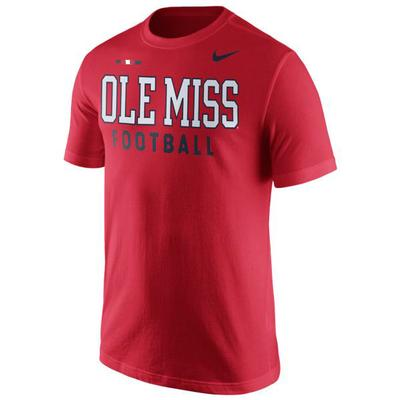 MENS OM FACILITY TOP RED