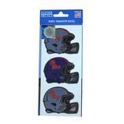 3 PACK OM HELMET DECALS