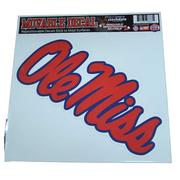 12X12 OLE MISS DECAL