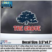 THE GROVE CAR DECAL