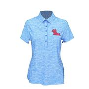 WOMENS ZINGER HEATHER POLO