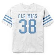 OLE MISS NO 38 SS IVY LEAGUE TEE