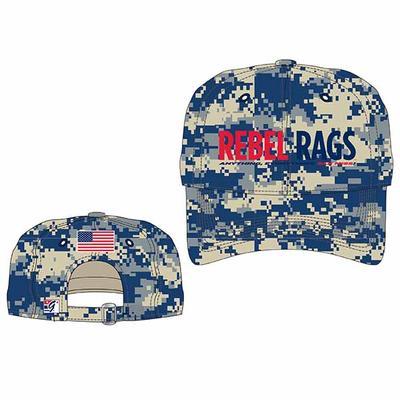 Navy Digital Rebel Rags Cap