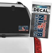 ID RATHER BE DECAL