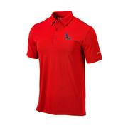OMNI WICK DRIVE POLO RED