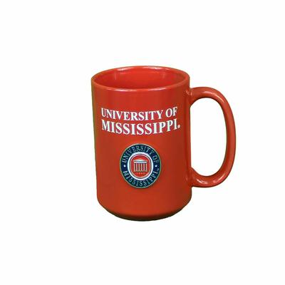 LYCEUM EL GRANDE MEDALLION MUG RED
