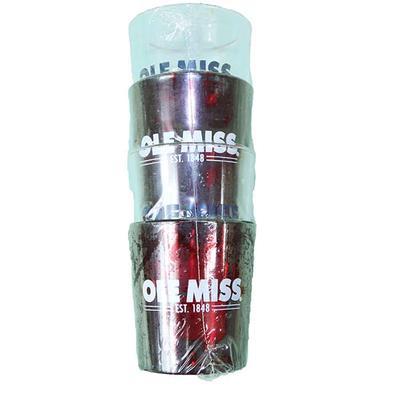 OLE MISS 4PK PLAST SHOT GLASS