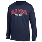 LS OLE MISS REBELS TEE SHIRT