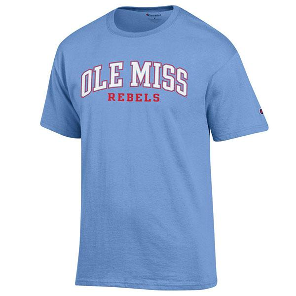 Ss Ole Miss Rebels Tee Shirt