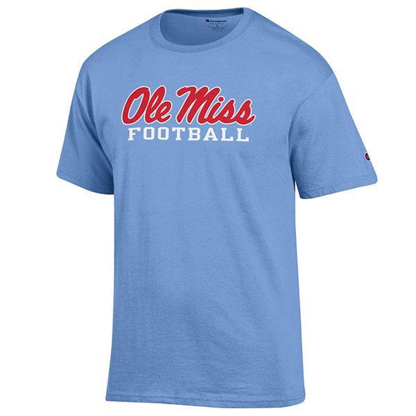 Ss Ole Miss Football Tee Shirt
