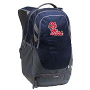 UA OM HUSTLE III BACKPACK NAVY