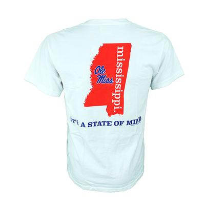OLE MISS STATE OF MIND TEE