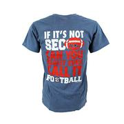 OM SEC CALL IT FOOTBALL SS TEE BLUJN