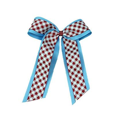 Becca Gingham Cheer Bow