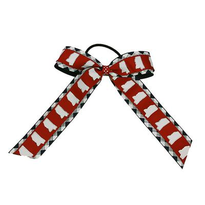 Birdie Sm Col Rebel Cheer Bow