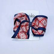 HOLLY MD AZTEC BOUTIQUE BOW RED