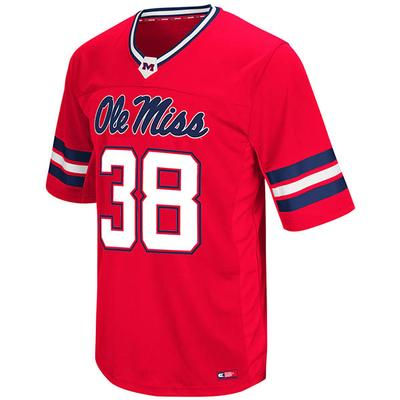 MENS 38 HAIL MARY II FB JERSEY RED