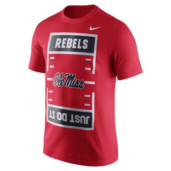 Ole Miss Nike Just Do It Tee