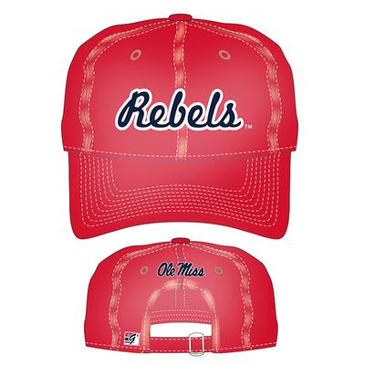Rebels Relaxed Canvas Cap