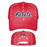 REBELS RELAXED CANVAS CAP RED