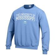 U OF M POWERBLEND FLEECE CREW