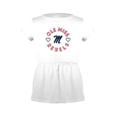 OM DEVORAH TODDLER PEPLUM TEE