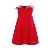 OM MABEL TOD COTTON WOV DRESS RED