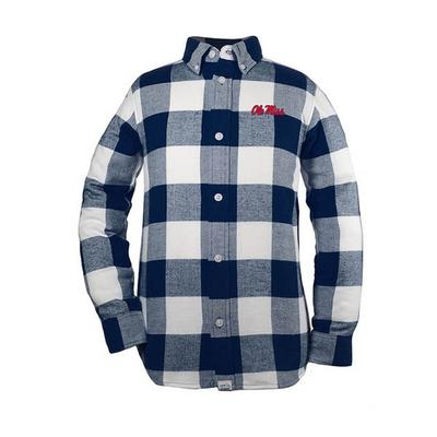 Nicholas Inf Flannel Button- Up