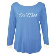 LS OM PIKO SCOOP NECK TEE