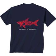 SHARK STREET MAP TEE NAVY
