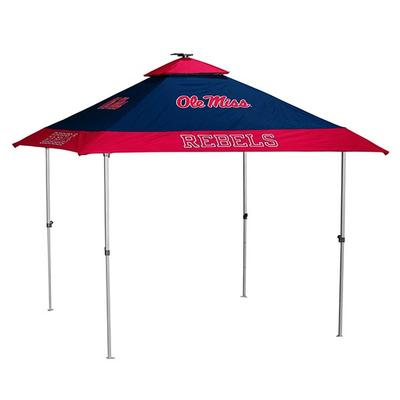 OLE MISS PAGODA TENT NAVY_RED