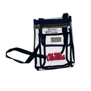 OLE MISS CRYSTAL CROSS BODY
