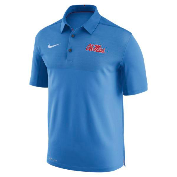 Ole Miss Nike Dry Elito Polo