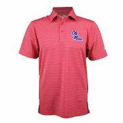 OLE MISS PLAYOFF STRIPE POLO