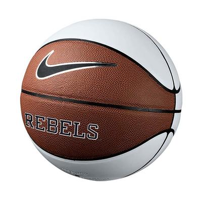 OLE MISS AUTOGRAPH BASKETBALL BROWN