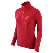 WOMENS DRIFIT QTR ZIP TOP