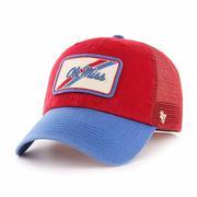OLE MISS FLAGSTONE CLOSER CAP RED