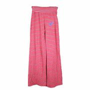 GIRLS OM STRIPE MANGO PANT RED