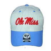 REBELS MORGAN CONTENDER CAP GRAY