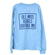 OLE MISS KIDS LS POCKET TEE