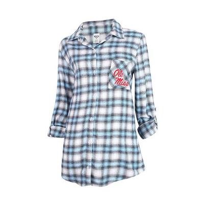 Forge Ladies Flannel Ls Top