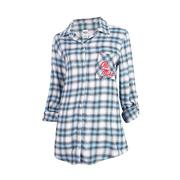 FORGE LADIES FLANNEL LS TOP