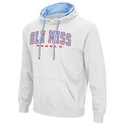 MENS ZONE III PULLOVER HOODIE WHITE