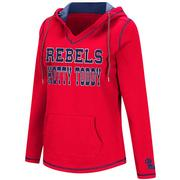 WOMENS SPIKE FLEECE HOODIE
