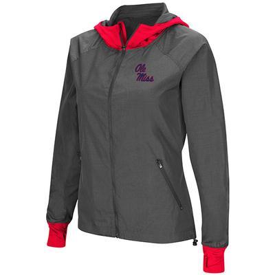 Womens Backside Hooded Jacket