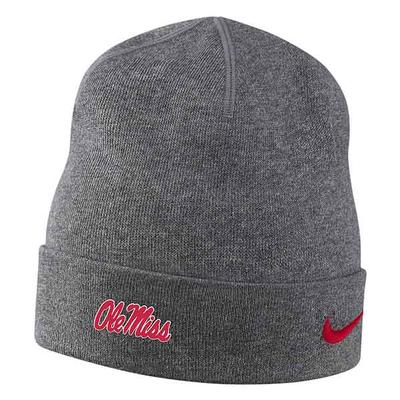 YTH SIDELINE TRAINING BEANIE CHARCOAL